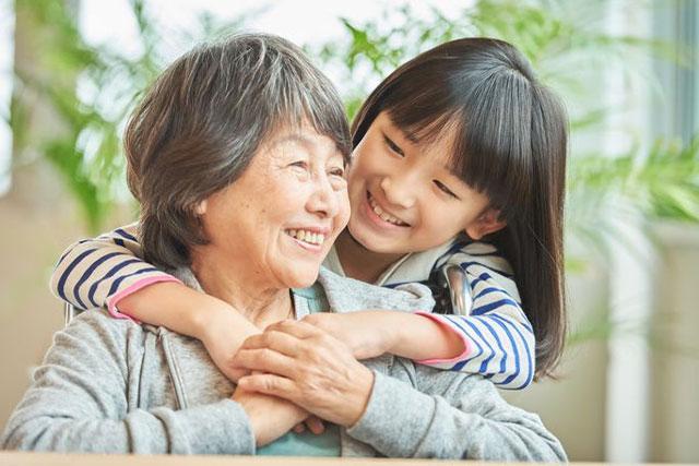 輝けるおばあちゃんに